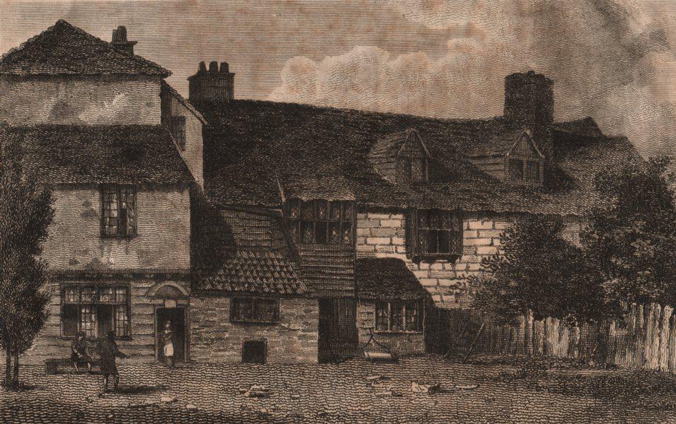 ISLINGTON PARISH. The Pied Bull Inn (now the Bull pub, 100 Upper Street) 1823