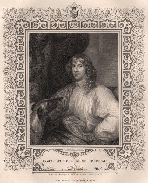 Associate Product BRITISH HISTORY. James Stuart, Duke Of Richmond. TALLIS 1853 old antique print