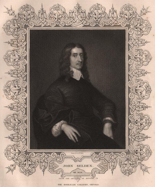 Associate Product BRITISH HISTORY. John Selden. TALLIS 1853 old antique vintage print picture