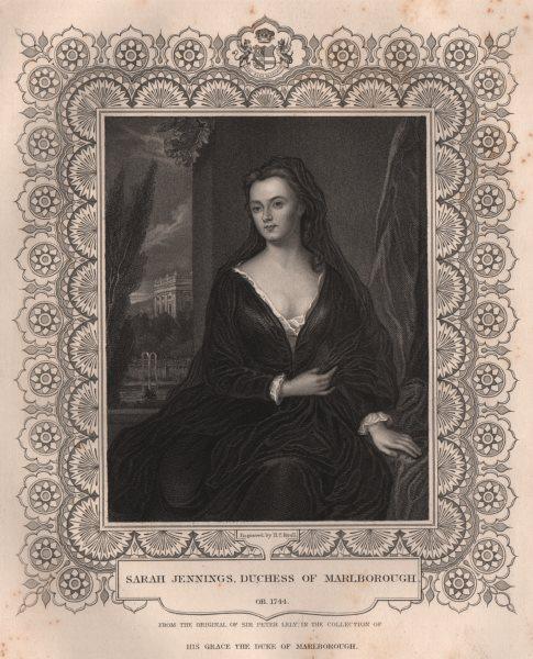 Associate Product BRITISH HISTORY. Sarah Jennings, Duchess Of Marlborough. TALLIS 1853 old print