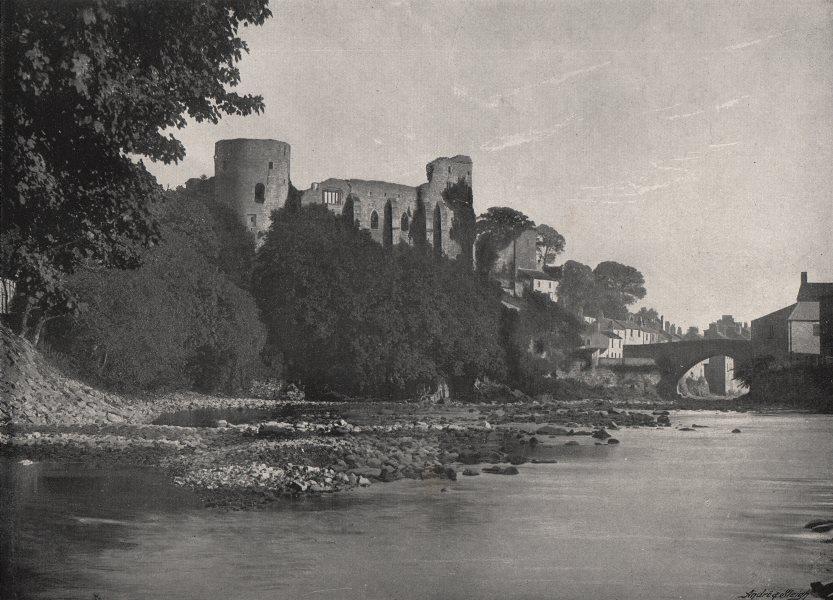 Associate Product DURHAM. Barnard Castle 1900 old antique vintage print picture