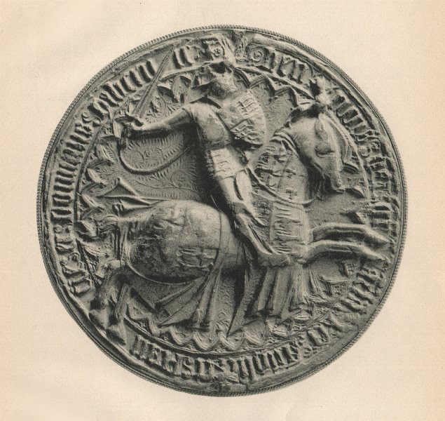Associate Product ENGLISH SEALS. King Henry VI. 2nd seal (French affairs) 1429-1440. 3rd 1423 1907
