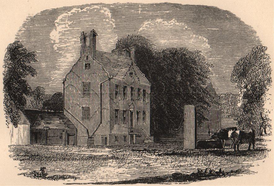 Associate Product HADDINGTONSHIRE. Colonel Gardiner's House, near Prestonpans. Scotland 1885