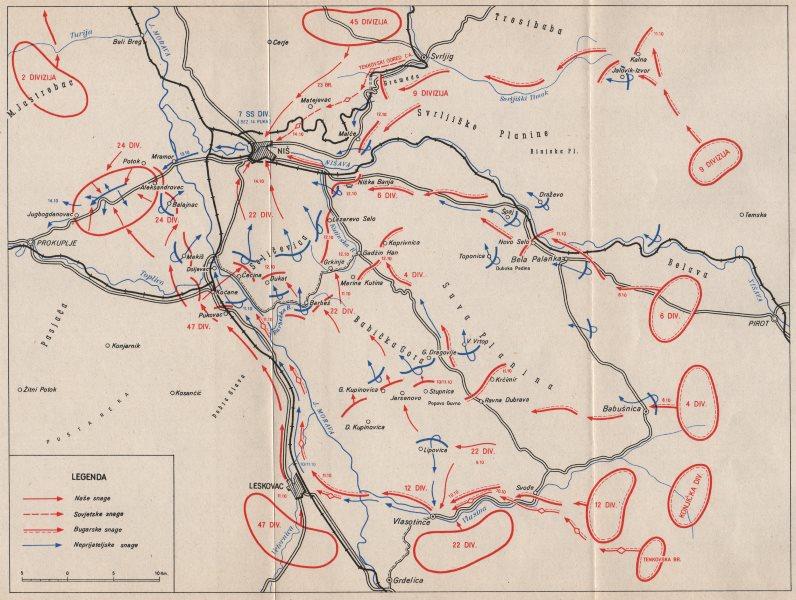 Serbia Nis Operation Niska Operacija 8 14 October 1944