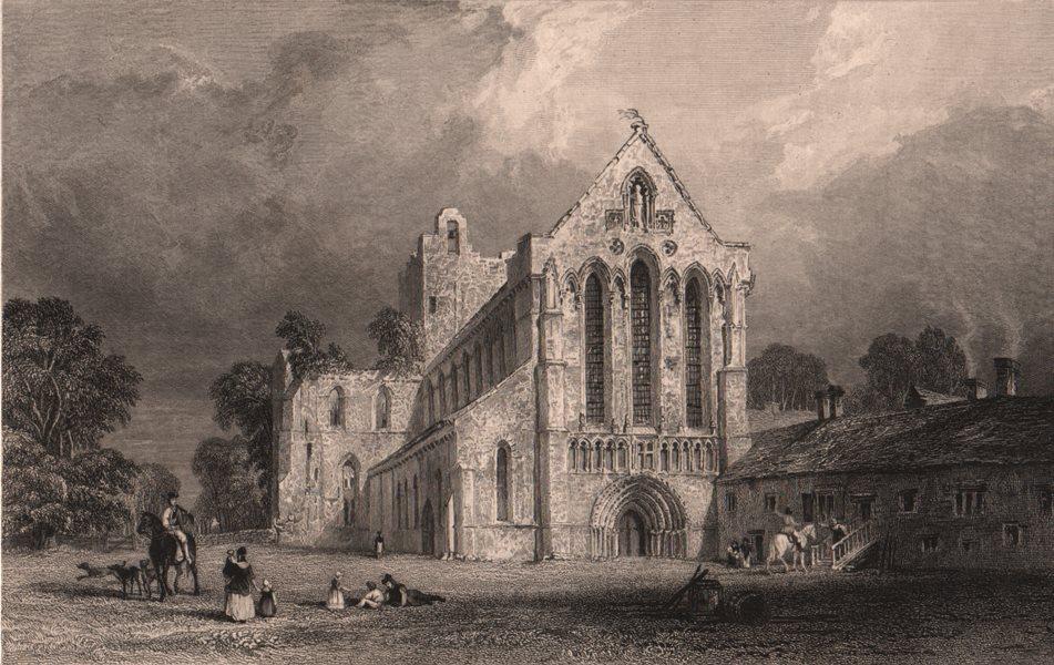 Associate Product CUMBRIA. Lanercost Priory, Cumberland. ALLOM 1839 old antique print picture