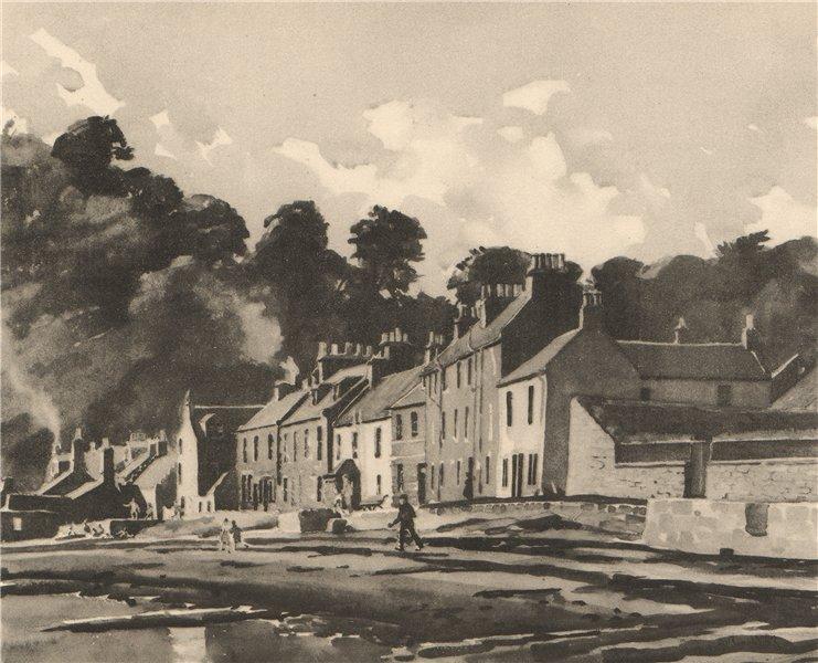 Associate Product LIMEKILNS. Red Row. Fife. Scotland. By Alan Ian Ronald 1952 old vintage print