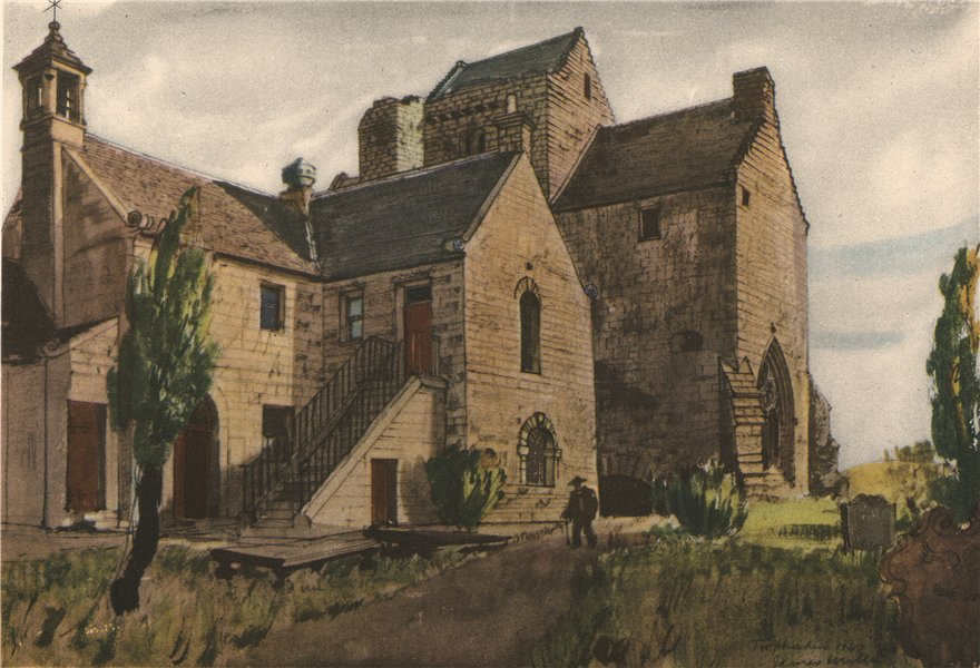 Associate Product TORPHICHEN. The Church. Scotland. By James Miller 1952 old vintage print