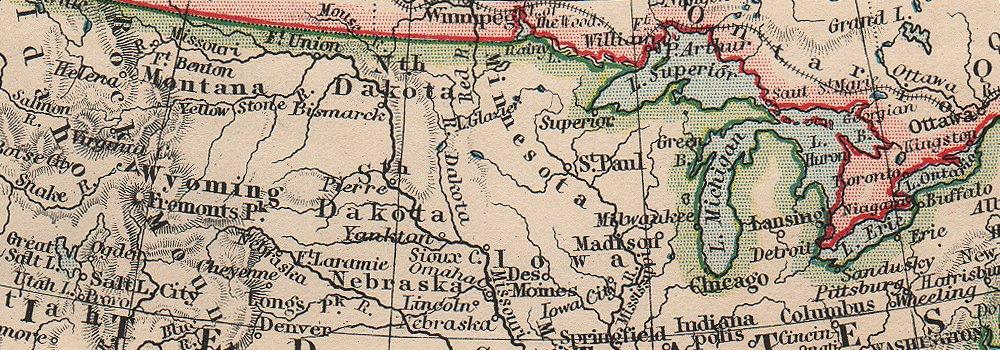 NORTH AMERICA POLITICAL. Greenland Danish America USA Canada Mexico 1906 map