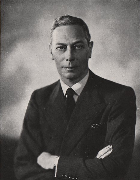 Associate Product KING GEORGE VI. His Majesty The King Patron of the Festival of Britain 1951