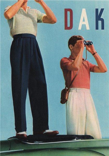 Associate Product FASHION ADVERT. S. Simpson Ltd. DAKS 1951 old vintage print picture