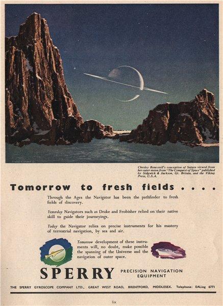 Associate Product ENGINEERING ADVERT. The Sperry Gyroscope Co. Ltd. Navigation equipment 1951
