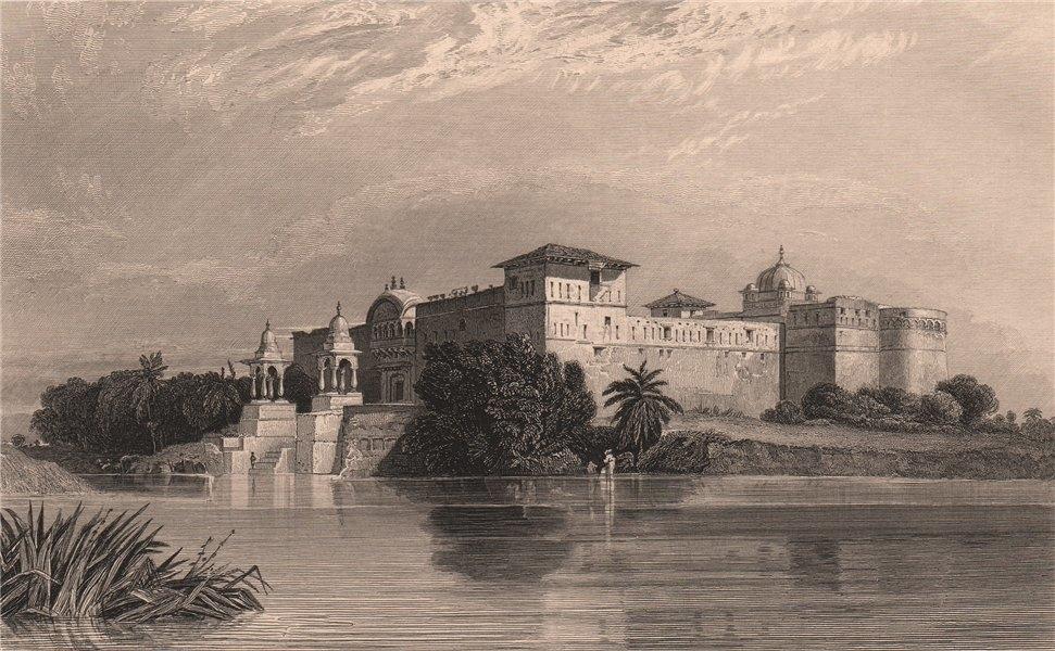 Associate Product BRITISH INDIA. Pirawa, Malwa 1858 old antique vintage print picture