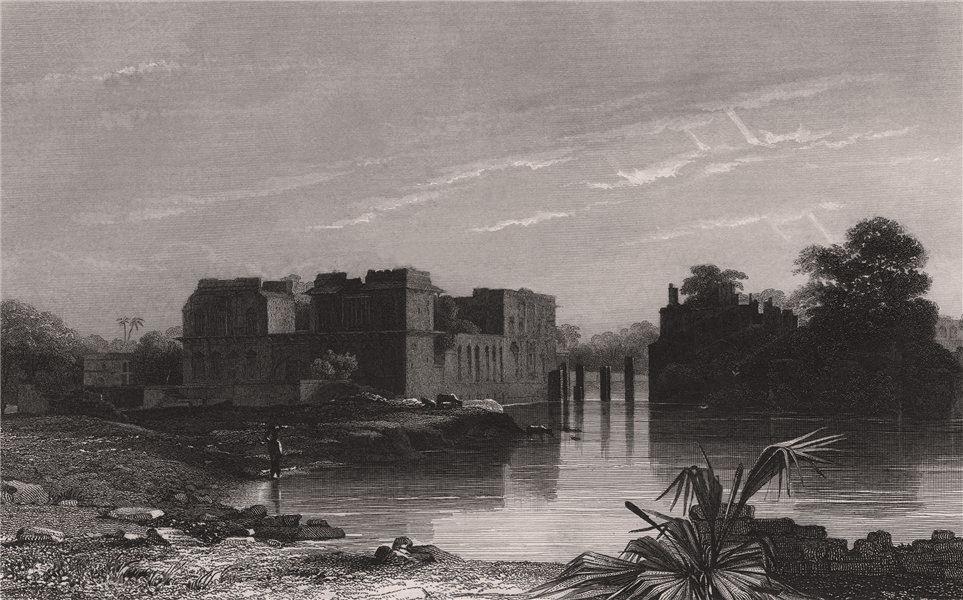 Associate Product BRITISH INDIA. Asar Mahal, Bijapur 1858 old antique vintage print picture