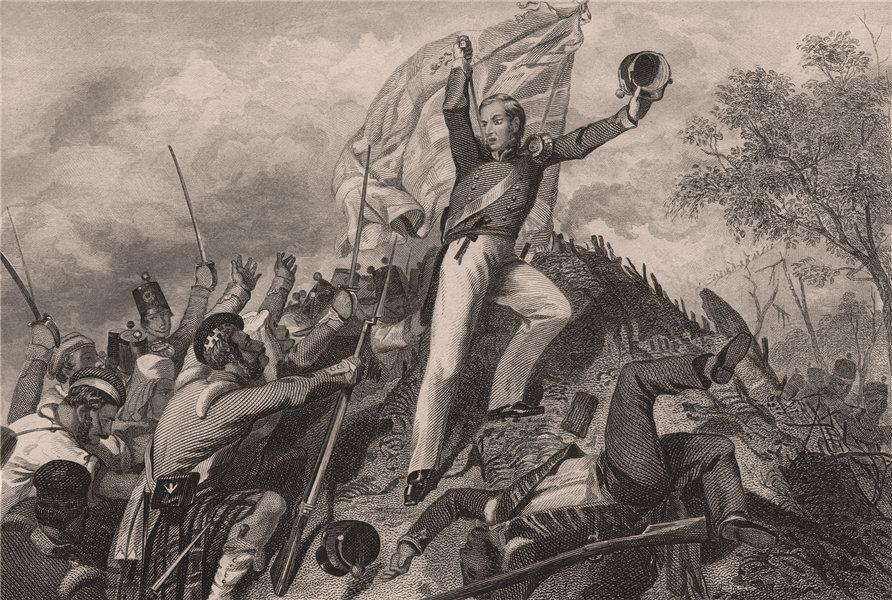 Associate Product INDIAN MUTINY. Highlanders capturing the guns at Kanpur. British India 1858