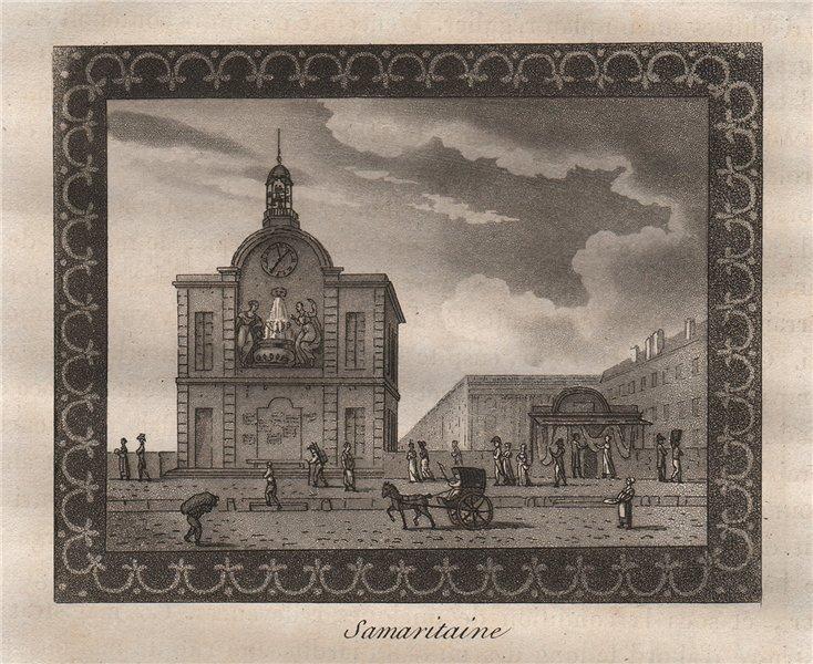 Associate Product PARIS. Samaritaine. Aquatint 1808 old antique vintage print picture