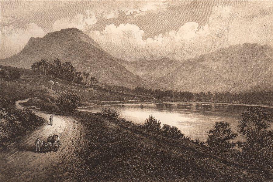 Associate Product BUTTERMERE. Lake district. Cumbria 1893 old antique vintage print picture
