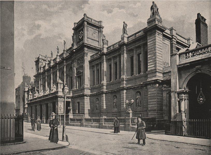 Associate Product London University. London. Education 1896 old antique vintage print picture