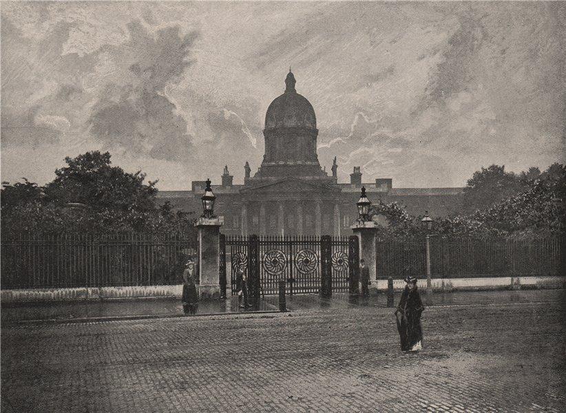 Associate Product Bethlehem Hospital. London. Medical 1896 old antique vintage print picture