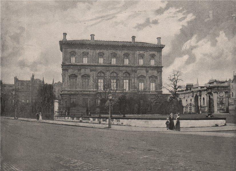 Associate Product Dorchester House . London. Historic Houses 1896 old antique print picture