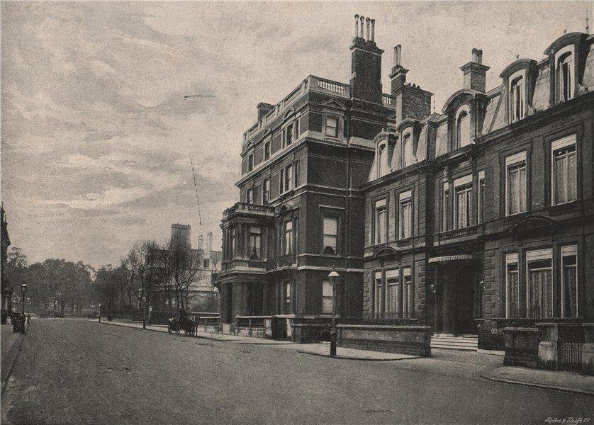 Associate Product Sir John Millais's House. London 1896 old antique vintage print picture