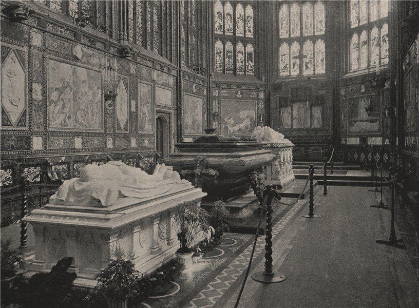 Associate Product The Albert Memorial Chapel, Windsor, Looking East. Berkshire. Churches 1896