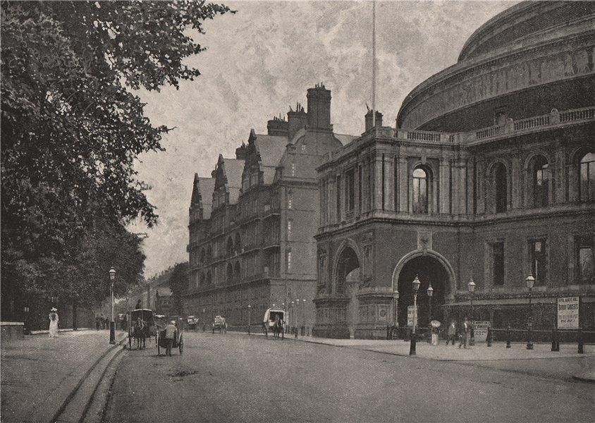Associate Product Albert Mansions. London 1896 old antique vintage print picture