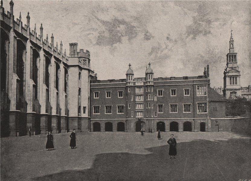 Associate Product Christ's Hospital. London 1896 old antique vintage print picture