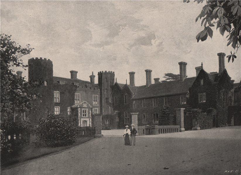 Associate Product Wickham Court. London 1896 old antique vintage print picture