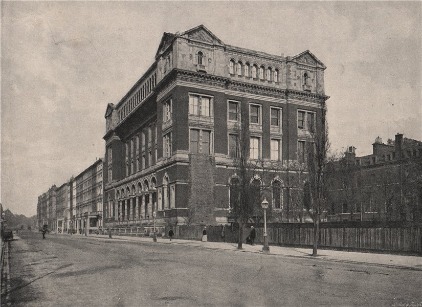 Associate Product The Royal College of science, South Kensington. London. Education 1896 print