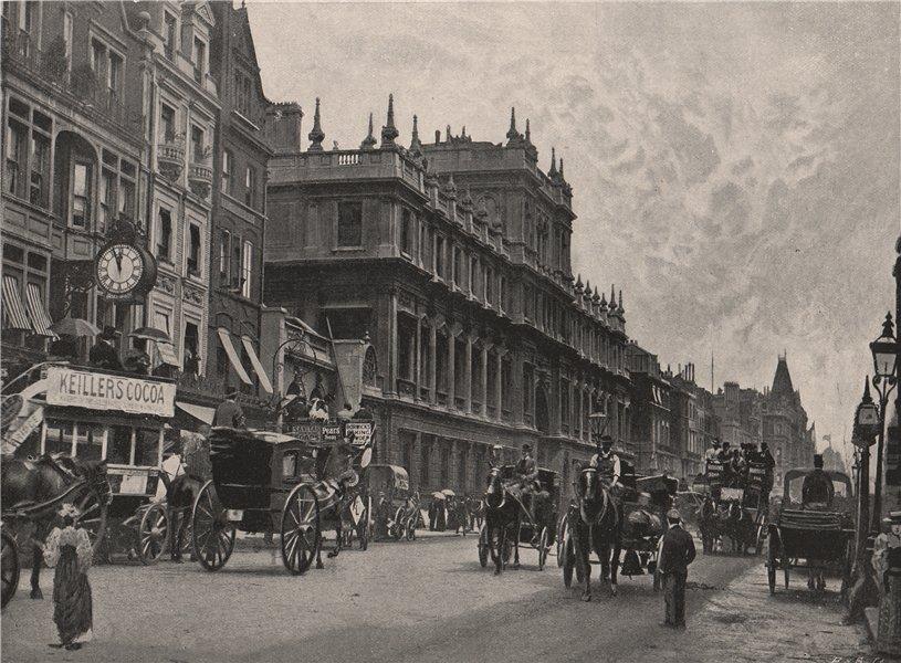 Associate Product Burlington House . London. Historic Houses 1896 old antique print picture