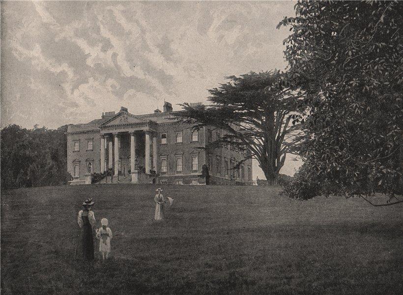Associate Product Claremont, Esher. Surrey. Historic Houses 1896 old antique print picture