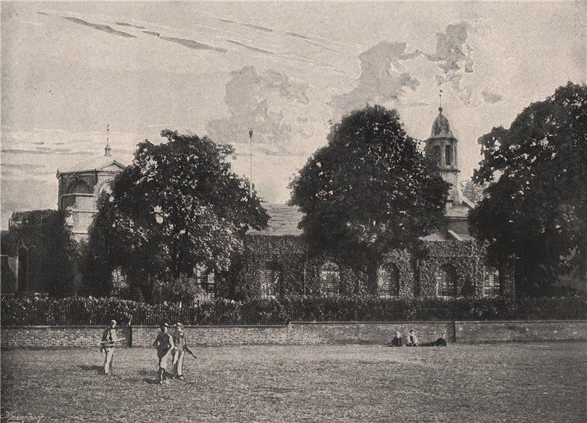 Associate Product Kew Church. London. Churches 1896 old antique vintage print picture