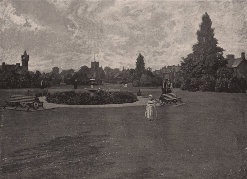 Associate Product Dr. Barnardo's Homes at Barking side . London. Children 1896 old antique print