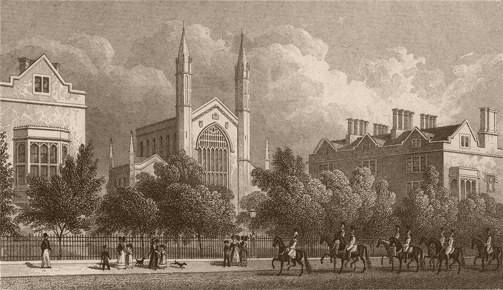Associate Product REGENT'S PARK. The Royal Hospital of St. Katharine. London. SHEPHERD 1828