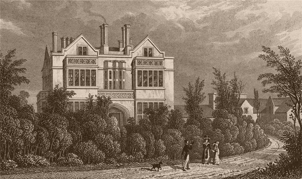 Associate Product REGENT'S PARK. St Katharine's Hospital (Herbert Taylor). London. SHEPHERD 1828