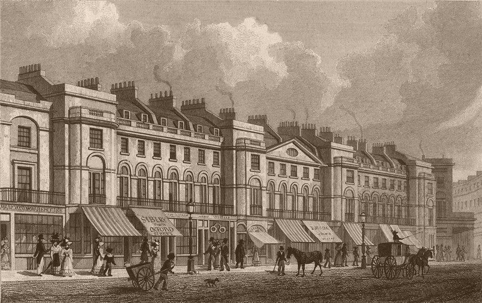 Associate Product 106-130 REGENT STREET. East Side. Glasshouse Street on right. SHEPHERD 1828
