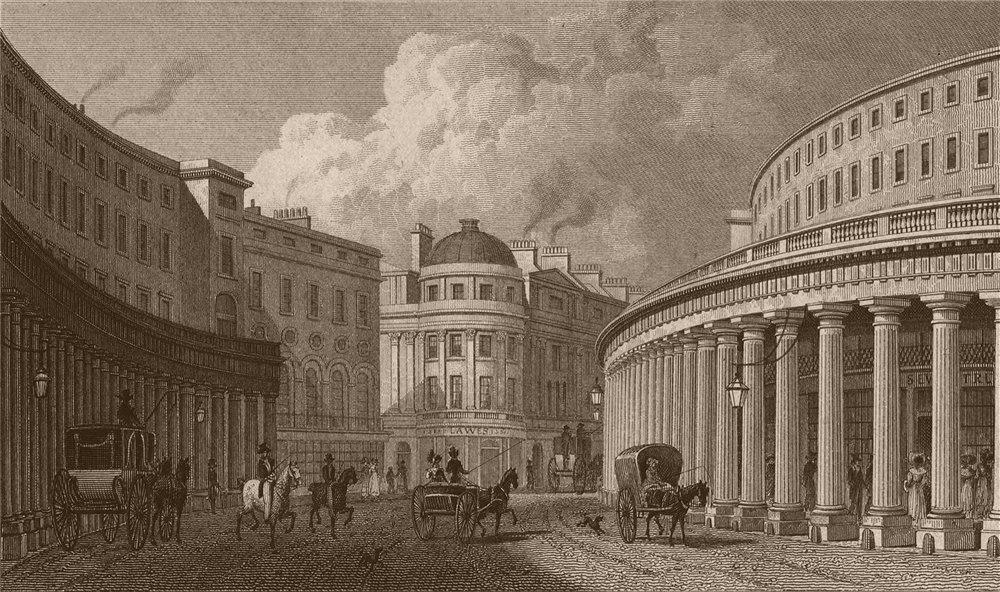 Associate Product REGENT STREET. The Quadrant, looking north-west. Vigo Street. SHEPHERD 1828