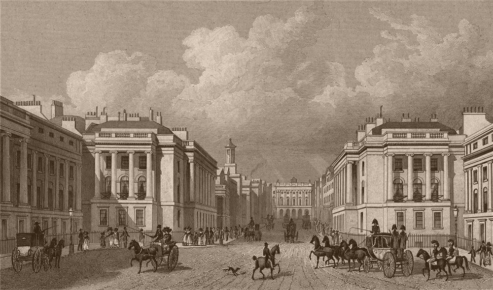Associate Product ST JAMES'S. Waterloo Place & part of Regent Street. London. SHEPHERD 1828