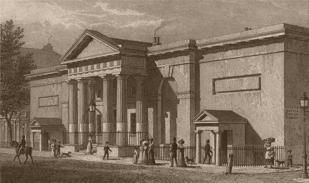 Associate Product BLOOMSBURY. The Russell Institution, Great Coram Street. London. SHEPHERD 1828