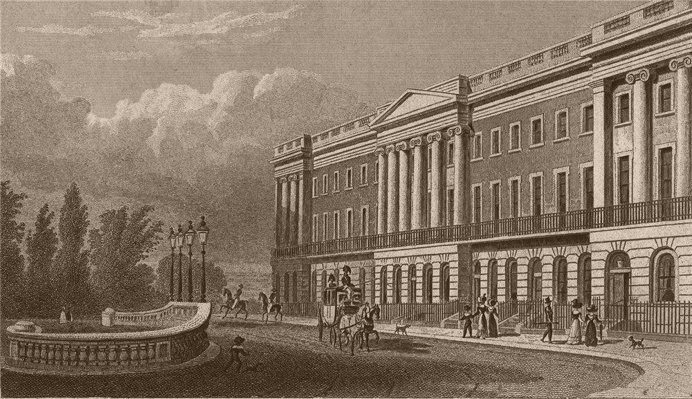 Associate Product WHITEHALL. Richmond Terrace. London. SHEPHERD 1828 old antique print picture