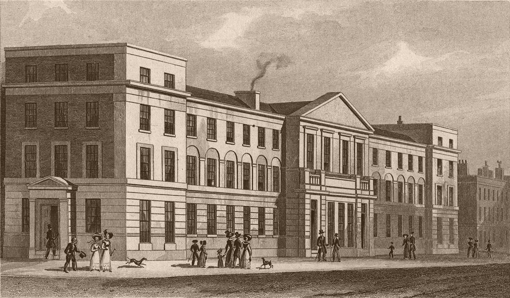 Associate Product ISLINGTON. College of the church Missionary Society. London. SHEPHERD 1828