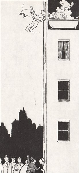 Associate Product HEATH ROBINSON. No Soap in the Bathroom. Domestic 1973 old vintage print