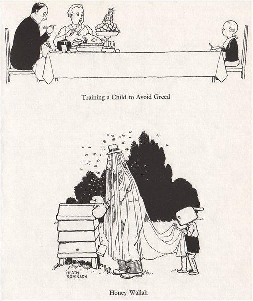 Associate Product HEATH ROBINSON. Training a Child to Avoid Greed; Honey Wallah. Domestic 1973
