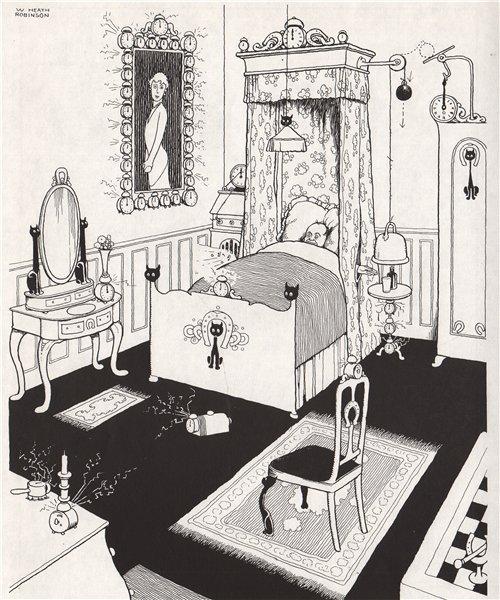 Associate Product HEATH ROBINSON. Bedroom Suite de Luxe. Domestic 1973 old vintage print picture