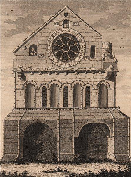 Associate Product BARFRESTONE CHURCH, Kent. 'Barfreston Church'. GROSE 1776 old antique print