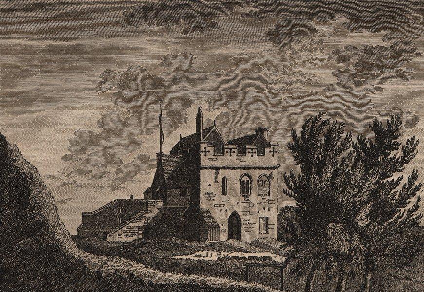 Associate Product CAMBRIDGE CASTLE, Cambridgeshire. GROSE 1776 old antique vintage print picture
