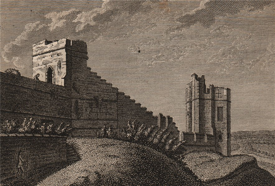 Associate Product THE NEW OR WATER TOWER, Chester, Cheshire. GROSE 1776 old antique print