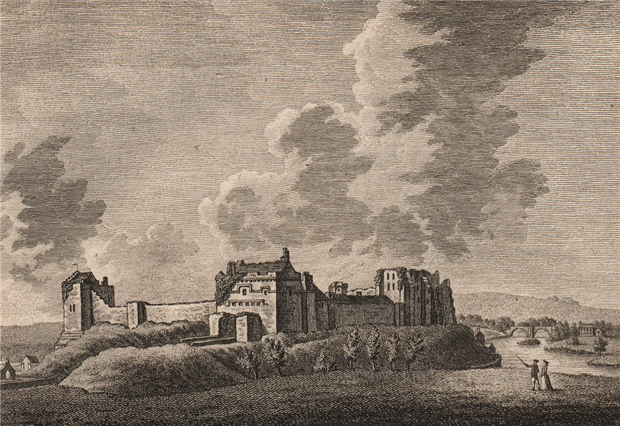 Associate Product COCKERMOUTH CASTLE, Cumberland. Plate 1. Cumbria. GROSE 1776 old antique print