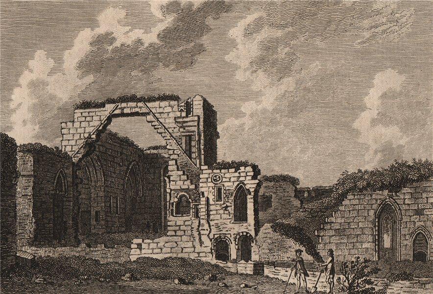 Associate Product COCKERMOUTH CASTLE, Cumberland. Plate 2. Cumbria. GROSE 1776 old antique print