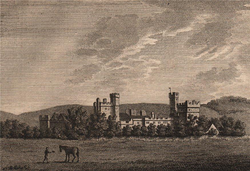 Associate Product NAWORTH CASTLE, Cumberland. Plate 1. Cumbria. GROSE 1776 old antique print